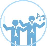 Orquestra sinfônica com coro