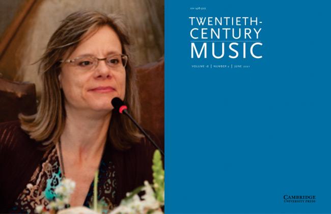 Maria Alice Volpe na revista Twenty-Century Music