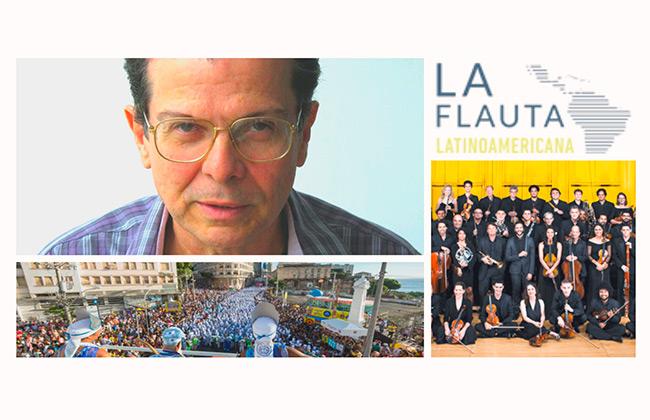 Paulo Costa Lima no concurso internacional La Flauta Latinoamericana e em levantamento histórico da cultura baiana